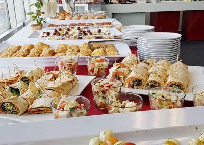 futurebox Veranstaltungscentrum Seevetal Catering Vorspeisen-Buffet